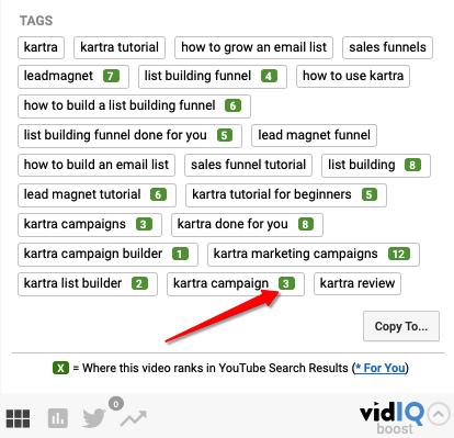 Video tag tool