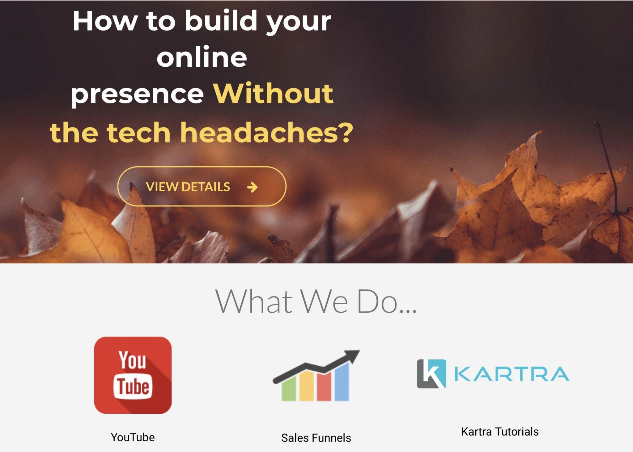 Kartra Page Builder